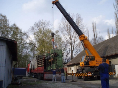 Transportation of machines in the territory of Poland and the entire European Union